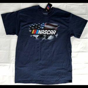 Blue Nascar Shirt Men's XL NWT